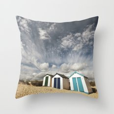Great British Summer Throw Pillow