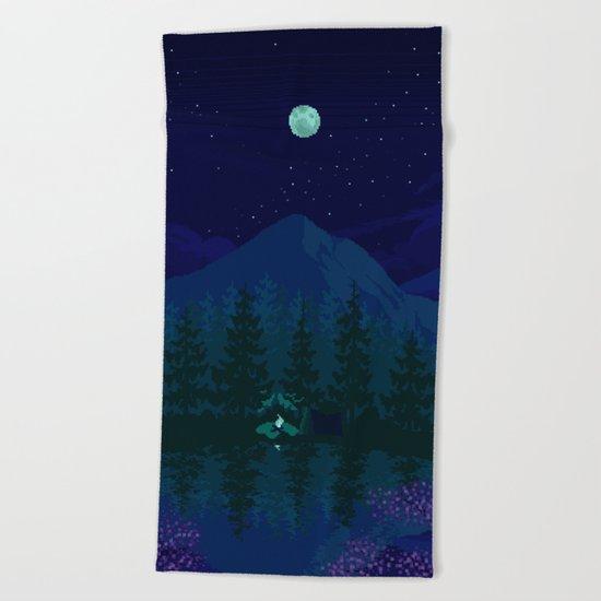 Camping Beach Towel