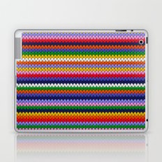Knitted colorful lines Laptop & iPad Skin