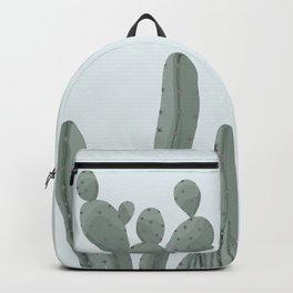 Soft Pastel Cacti Design Backpack