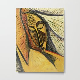 Pablo Picasso - Head of A Sleeping Woman Metal Print