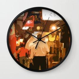 Enjoy Yakitori Ad Wall Clock