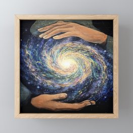 Conjurer (Mural at High Dive, Gainesville FL) Framed Mini Art Print
