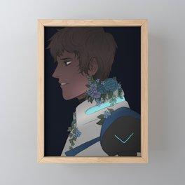 Lance Framed Mini Art Print