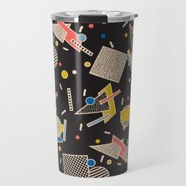 Memphis Inspired Design 8 Travel Mug
