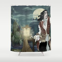Haunted Hook Shower Curtain