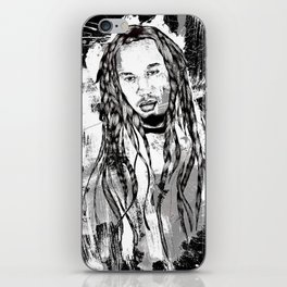 Benjamin Zephaniah iPhone Skin