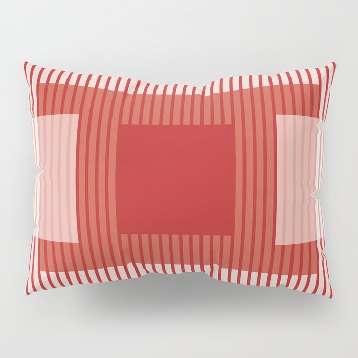 Dessin Lines & Rectangles III Pillow Sham