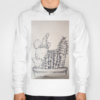 cacti Hoodies featuring Cacti by Goni Halevy