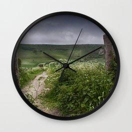 The Long Man Wall Clock