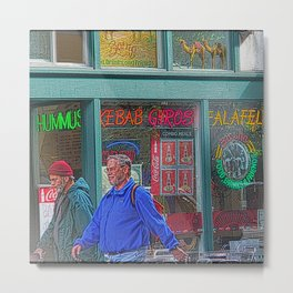 Gyros of Seattle Metal Print