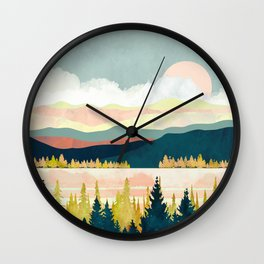 Lake Forest Wall Clock