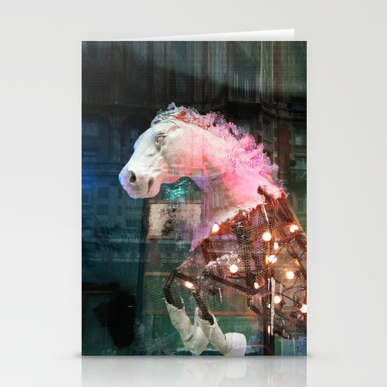 Pink Horse Stationery Cards