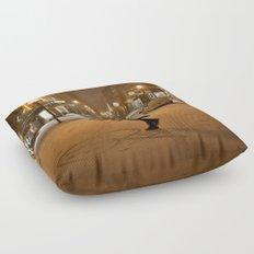 Québec Night Floor Pillow