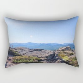 The summit of Mount Chocora Rectangular Pillow
