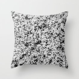 Speckled Marble Throw Pillow
