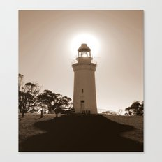 Midday over Lighthouse Canvas Print