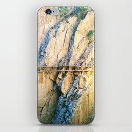 Caminito del Rey iPhone Skin