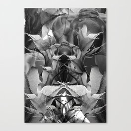 Lily Collage Canvas Print