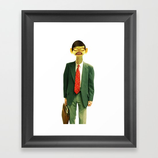 Mr. English Framed Art Print