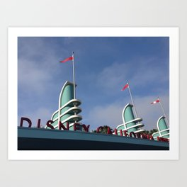 California Adventure Art Print