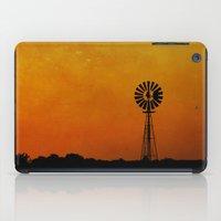 kansas iPad Cases featuring Kansas by RDelean
