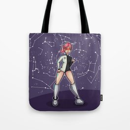 Penelope, the Pin-Up Space Cadet Tote Bag