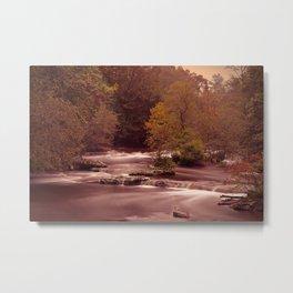 Blackberry Falls Waterscape Metal Print
