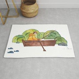 Fisherman - print Rug