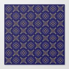 Royal [abstract pattern B] Canvas Print