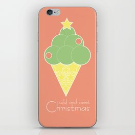 cold and sweet Christmas iPhone Skin