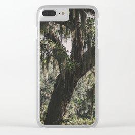 Savannah Spanish Moss Clear iPhone Case
