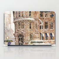 takmaj iPad Cases featuring Winter in NYC by takmaj