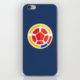 WORLDCUP IS COMING! - COLOMBIA iPhone Skin