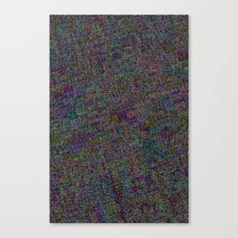 R Experiment 13 - Tree town map (right angle version) Canvas Print
