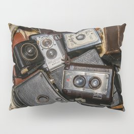 A Mess Of Old Cameras 2 Pillow Sham