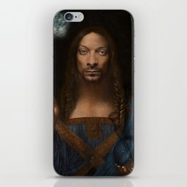 Sativator Mundi iPhone Skin