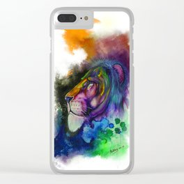 Lion 1 Clear iPhone Case