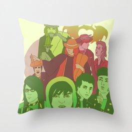 Sixteen Candles: Recolor Throw Pillow