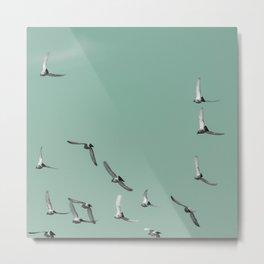Mint Skies Metal Print