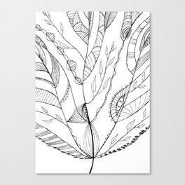 Amazing Leaves Canvas Print
