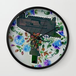 Rosetillery Wall Clock