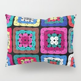 Granny Square Pillow Sham