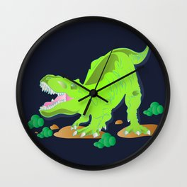 Dino - Bright Wall Clock