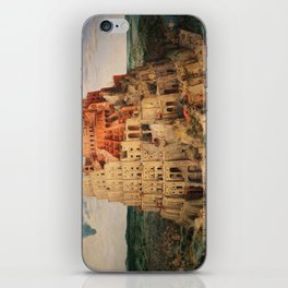 The Tower of Babel by Pieter Bruegel the Elder iPhone Skin