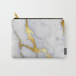 Italian gold marble II Carry-All Pouch