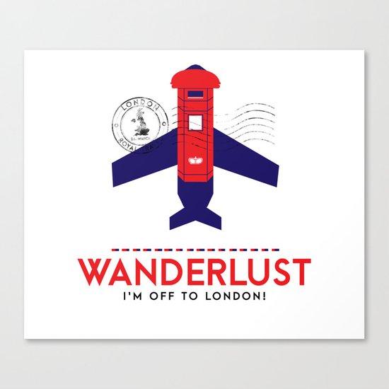 Royal Travel - London Wanderlust Canvas Print