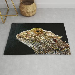 Bearded Dragon Rug