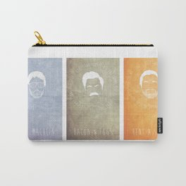 Andy, Ron, and Tom Carry-All Pouch