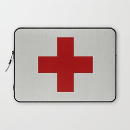 Remember Red Cross Laptop Sleeve